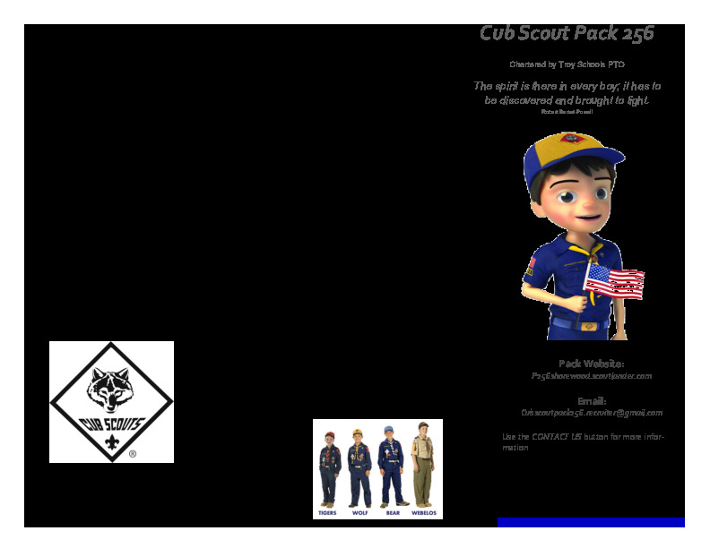 Cubs Scouts Pack 256