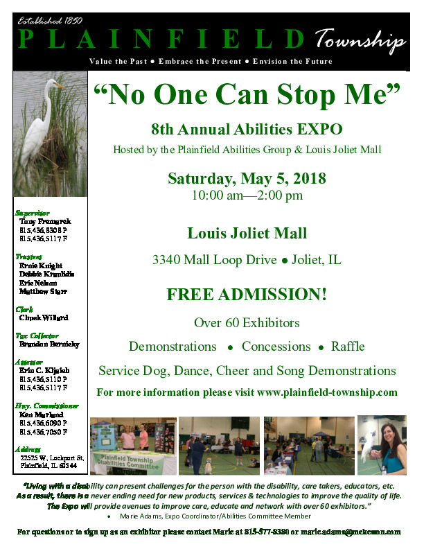 No One Can Stop Me Abilities Expo