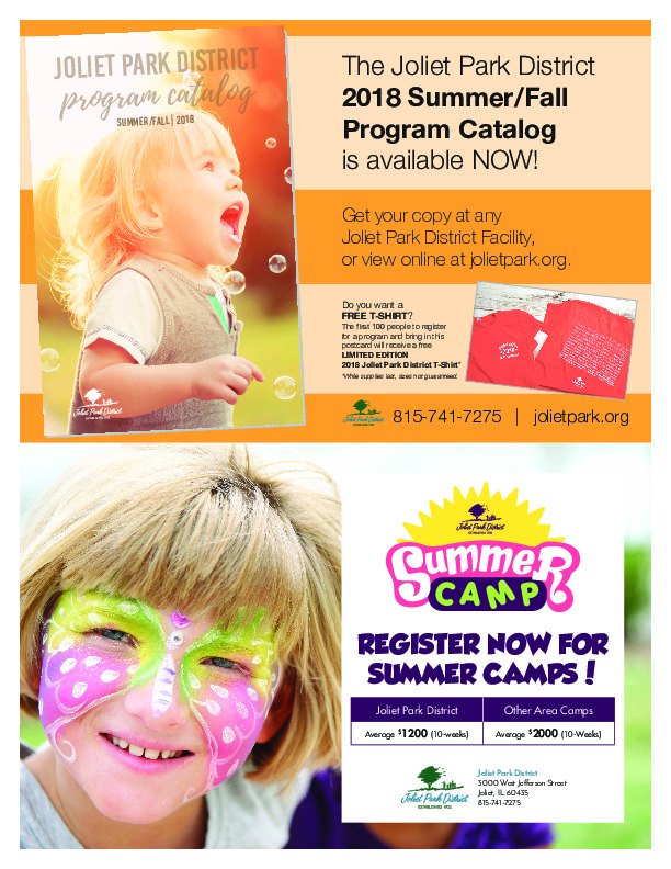 Summer Fall 2018 Catalog and Summer Camps