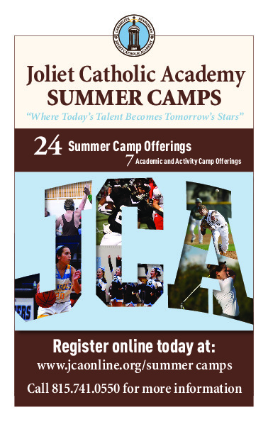 Joliet Catholic Academy offers 24 Summer Camps including Athletic, Academic, and Activity Offerings