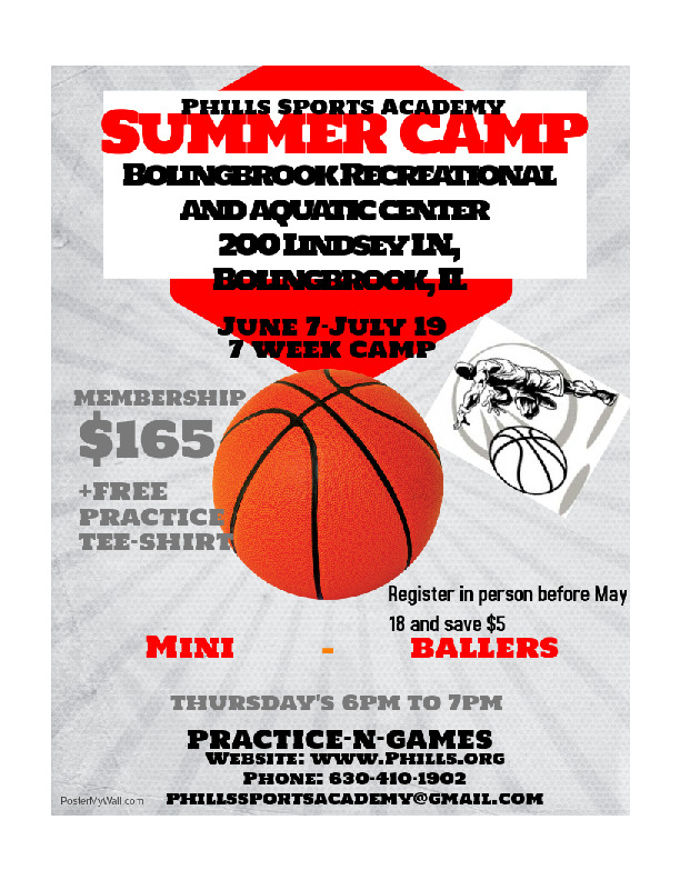 2nd-5th Grade Basketball Summer Camp at the BRAC