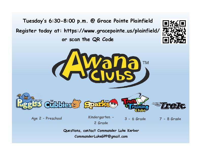 Awana - Grace Pointe Plainfield