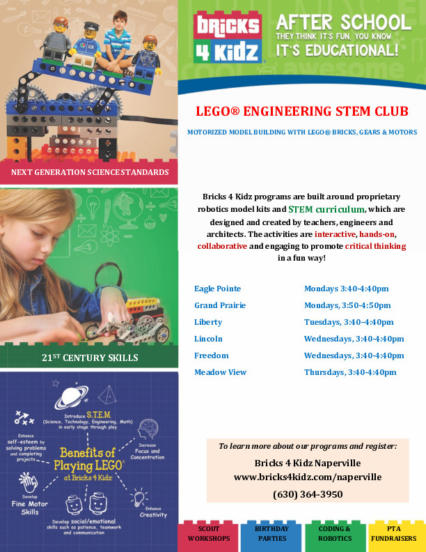Bricks 4 Kidz Lego STEM Club