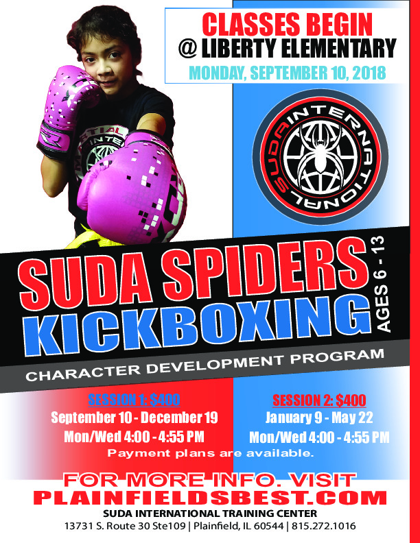 SUDA Spiders Kickboxing - Liberty Elementary