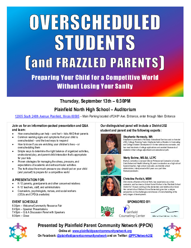 Over-scheduled Students (and Frazzled Parents): Preparing Your Child for a Competitive World Without Losing Your Sanity!