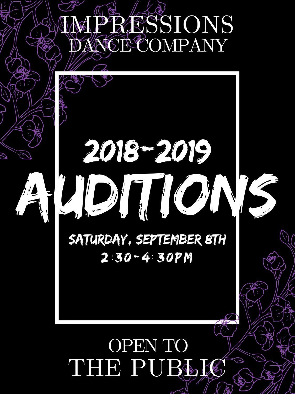 Impressions Dance Company Season 2 Auditions