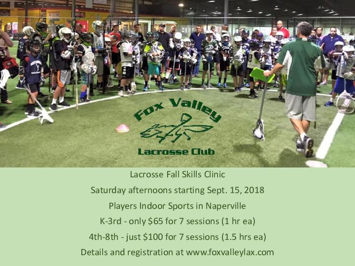 Lacrosse Fall Skills Clinic