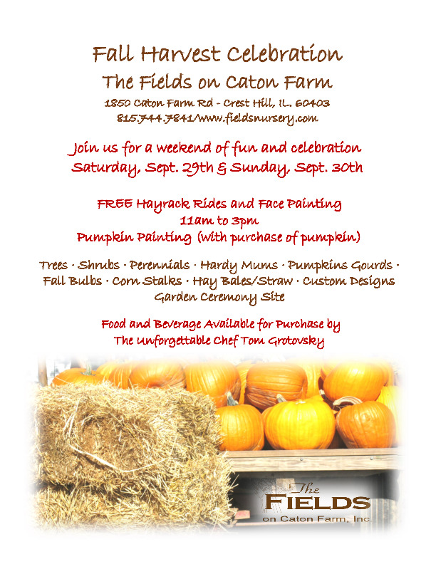 The Fields on Caton Farm, Inc. Crest Hill, IL