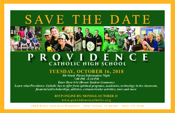 Providence Catholic 8th Grade Parent Information Night