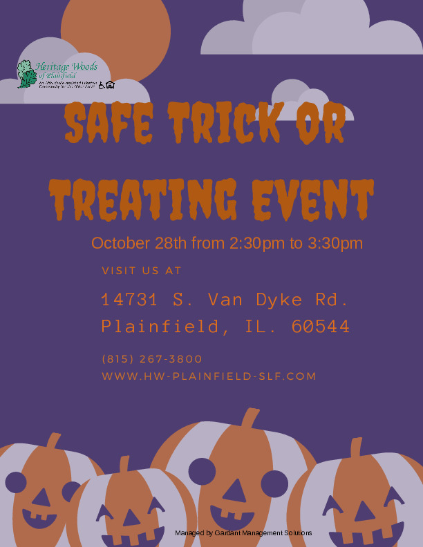 Safe Trick or Treating Event