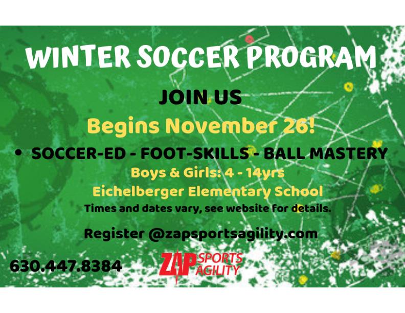 Winter Soccer Program