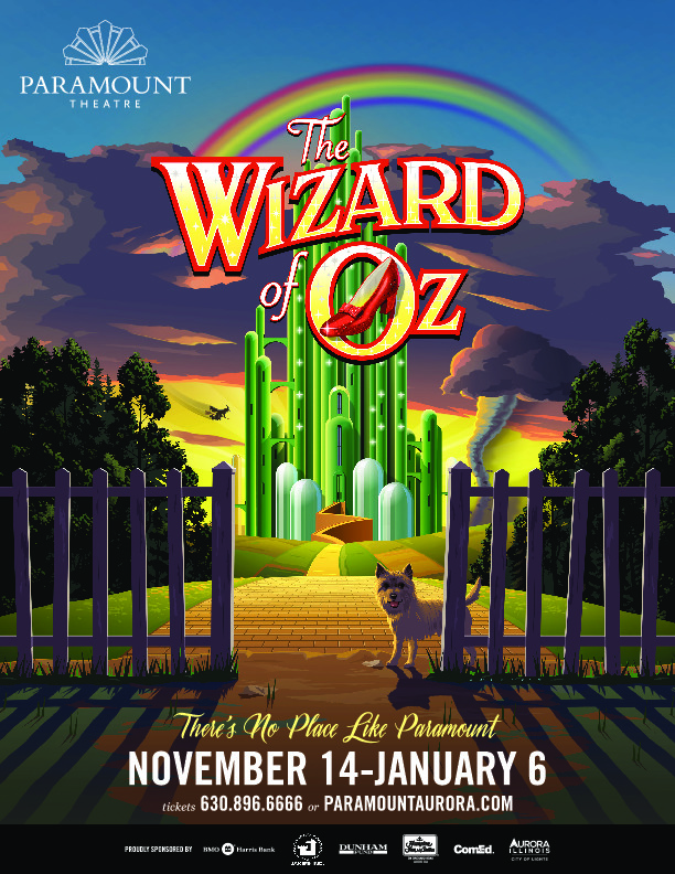 The Wizard of Oz Paramount Theatre