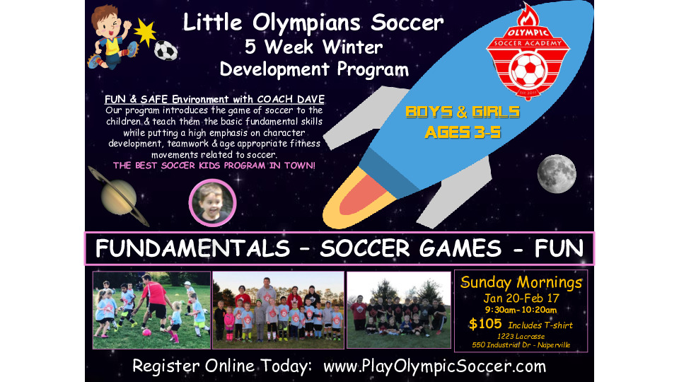 Little Olympians Soccer Program