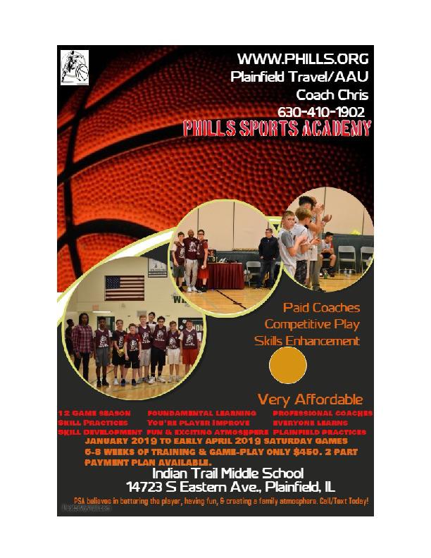 Plainfield Travel Basketball
