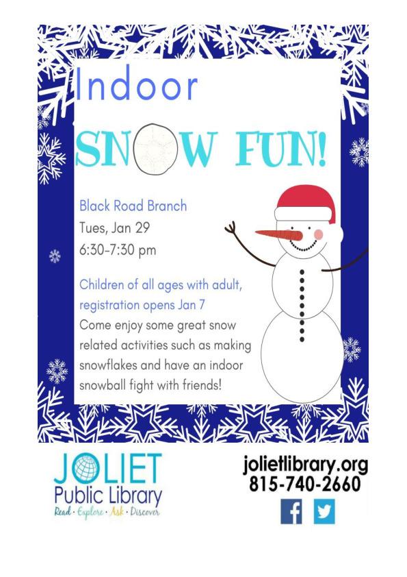 Indoor Snow Fun!