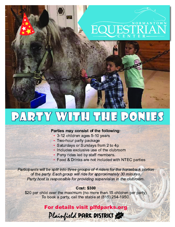 Equestrian Center Birthday Parties