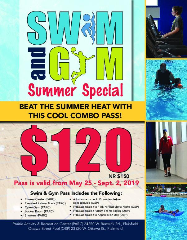 Swim & Gym at Plainfield Park District