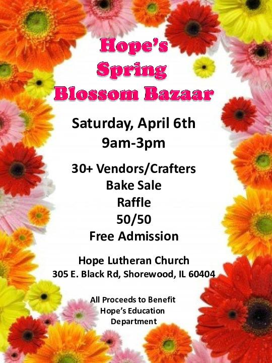 Hope's Spring Blossom Bazaar