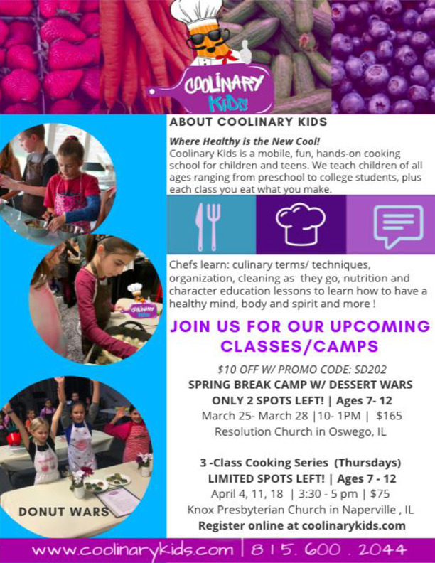 Coolinary Kids Cooking Classes