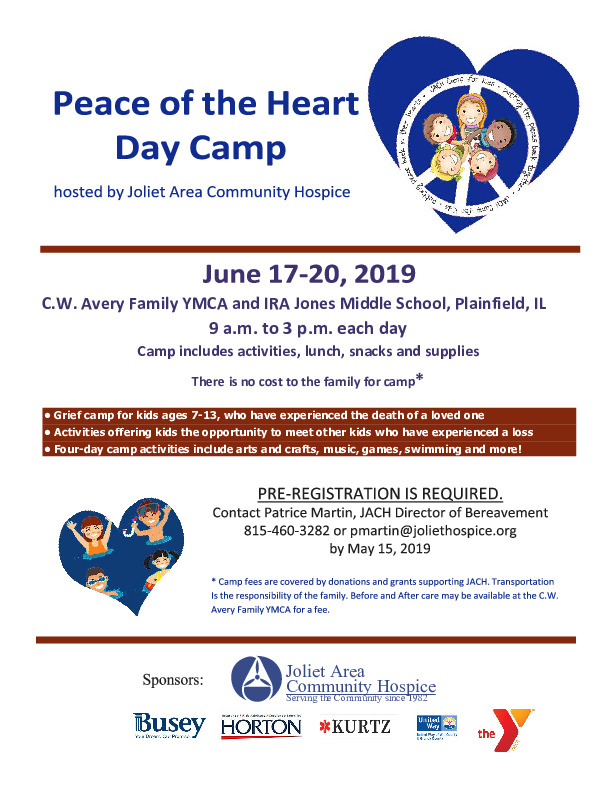 Peace of the Heart Day Camp