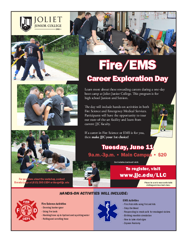 Fire/EMS Career Exploration Day