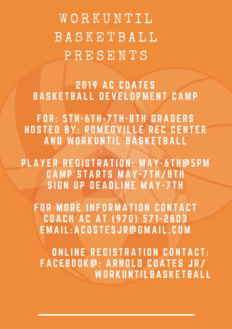 WorkUntil Basketball Summer Development Program