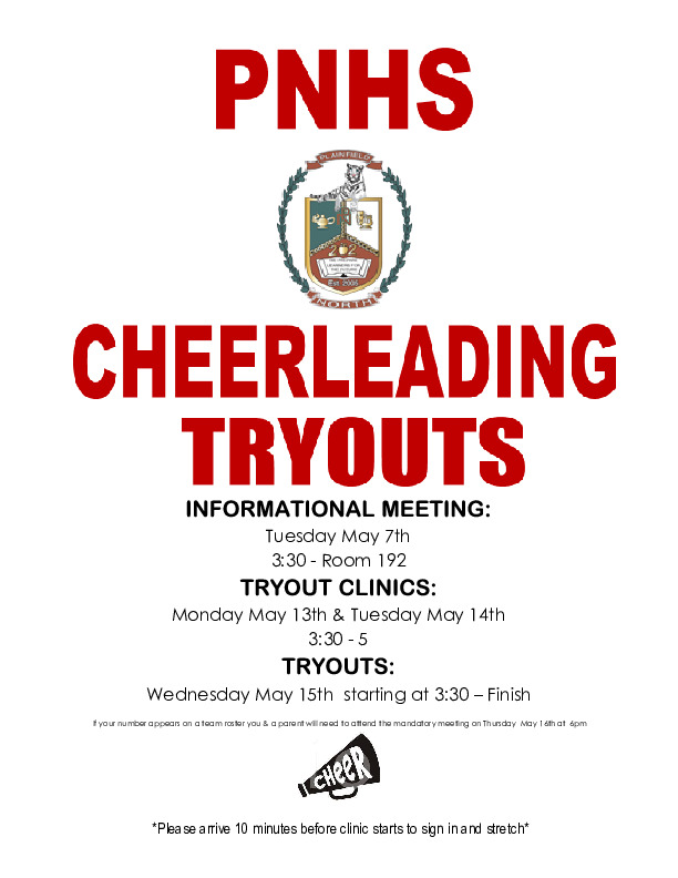 Plainfield North Cheer Tryouts