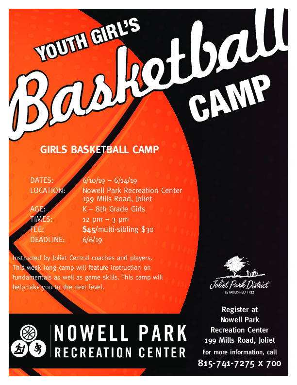 Youth Girl's Basketball Camp