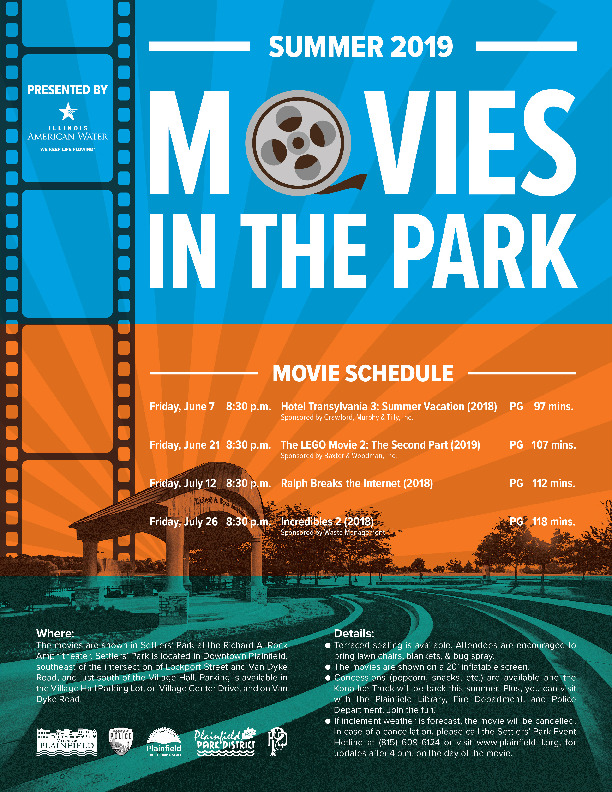 Movies in Settlers' Park