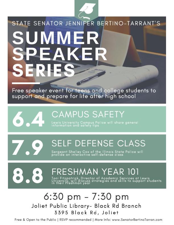 Summer Speaker Series- College Readiness