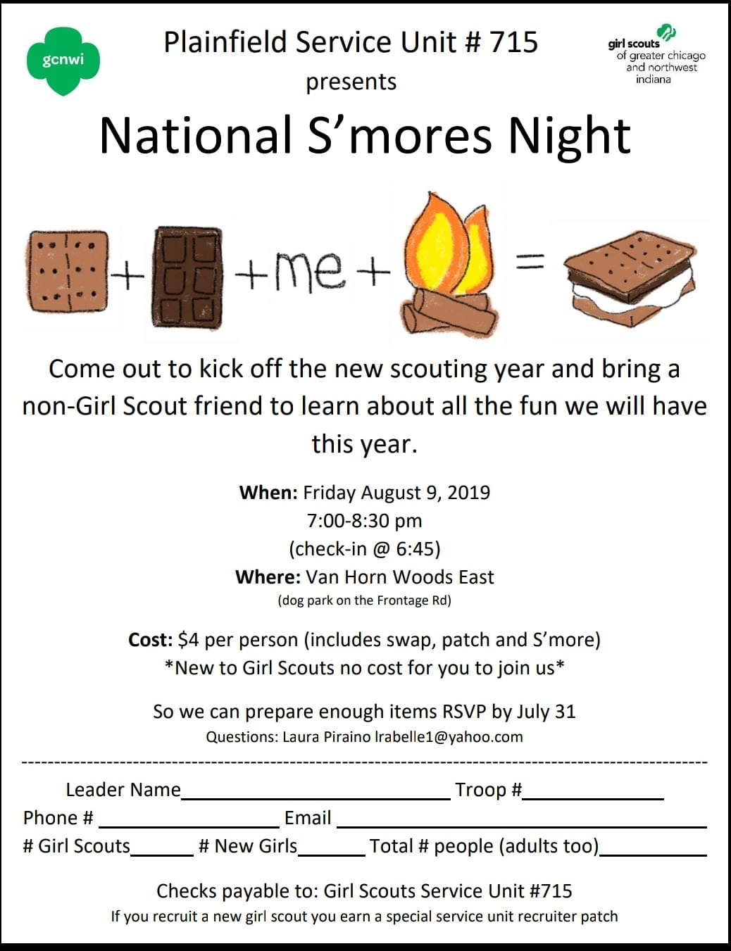 National S'mores Night