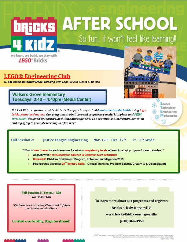 Bricks 4 Kidz After School Lego Engineering Club