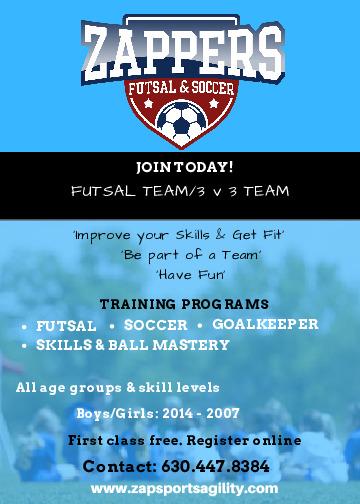 Futsal Team 3V3 Soccer