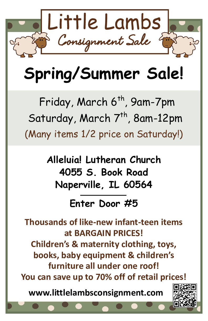 Little Lambs Kids Consignment Sale
