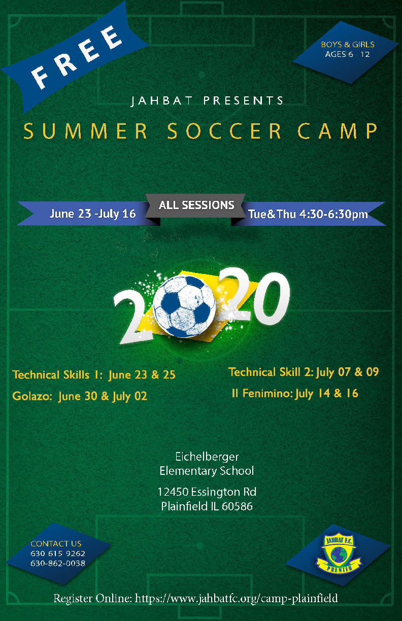 Free Summer Soccer Training