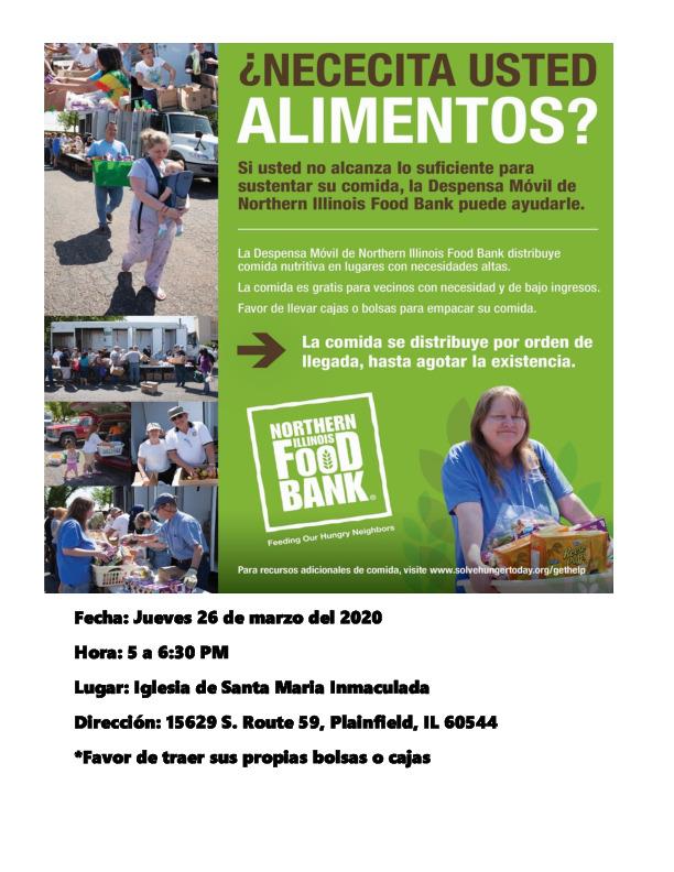 Northern Illinois Bank's Mobile Food Pantry