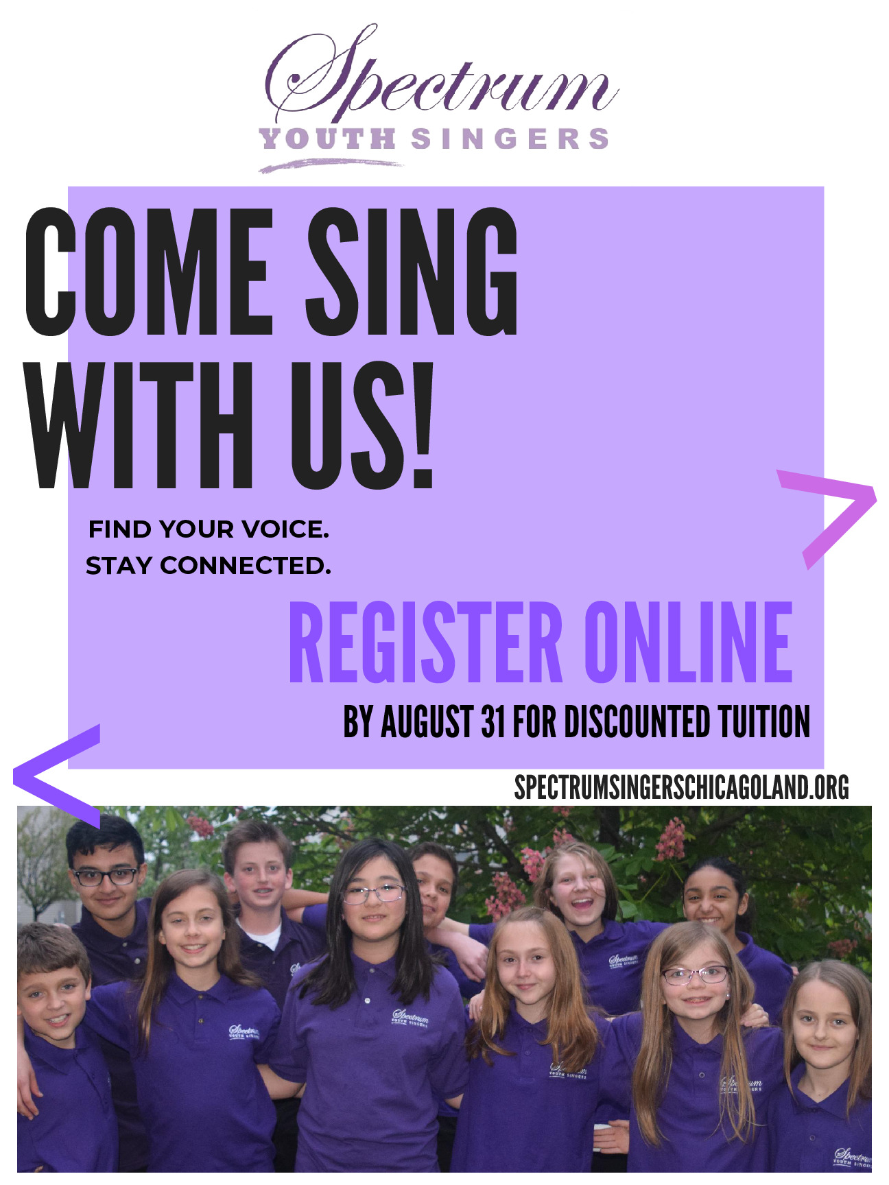 Come Sing with Spectrum Youth Singers (Plainfield)