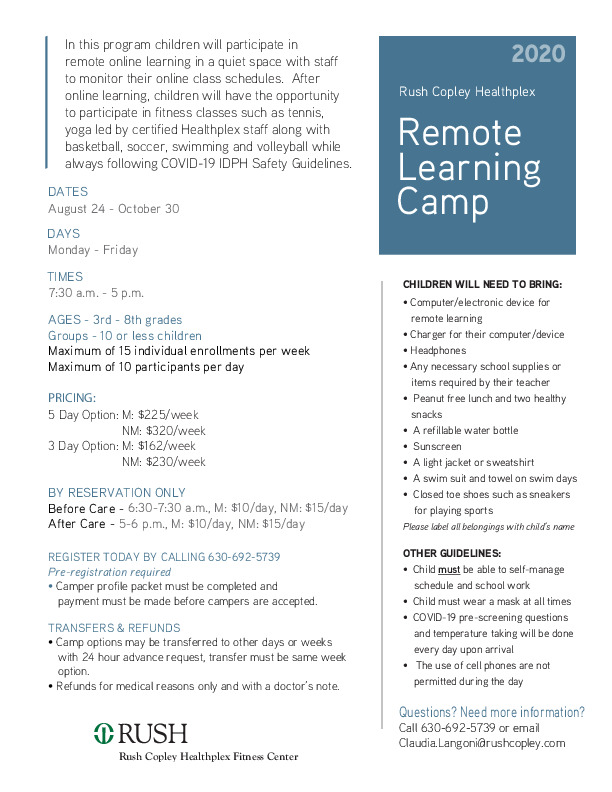 Remote Learning Camp
