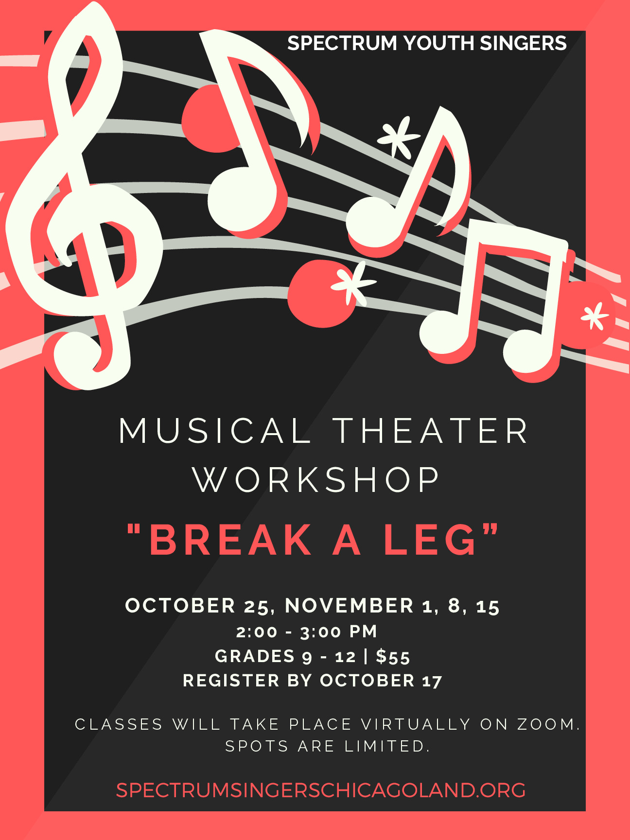 Musical Theater Workshop, Spectrum Youth Singers, Plainfield
