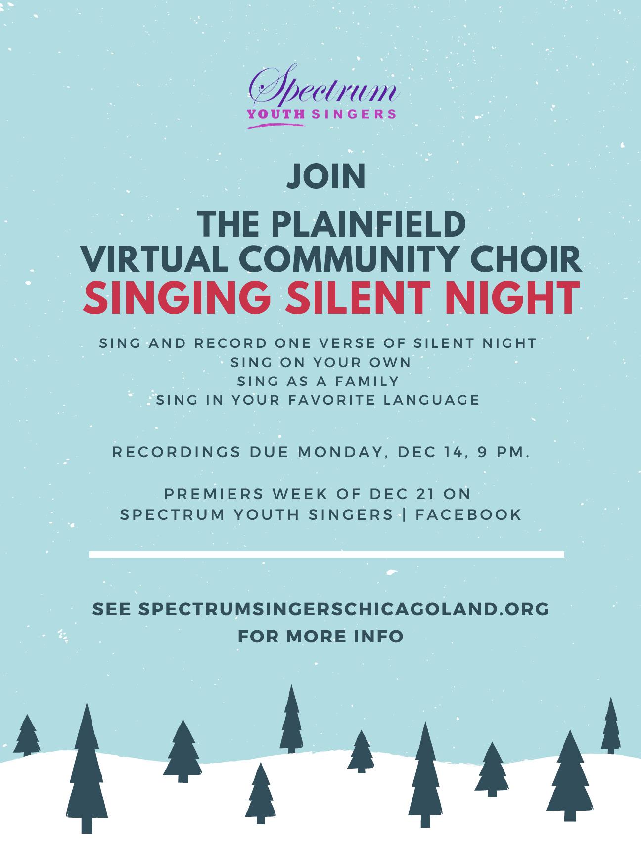 Spectrum Youth Singers Plainfield Virtual Community Choir