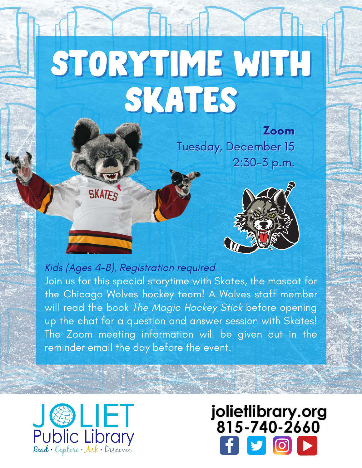 Storytime with Skates
