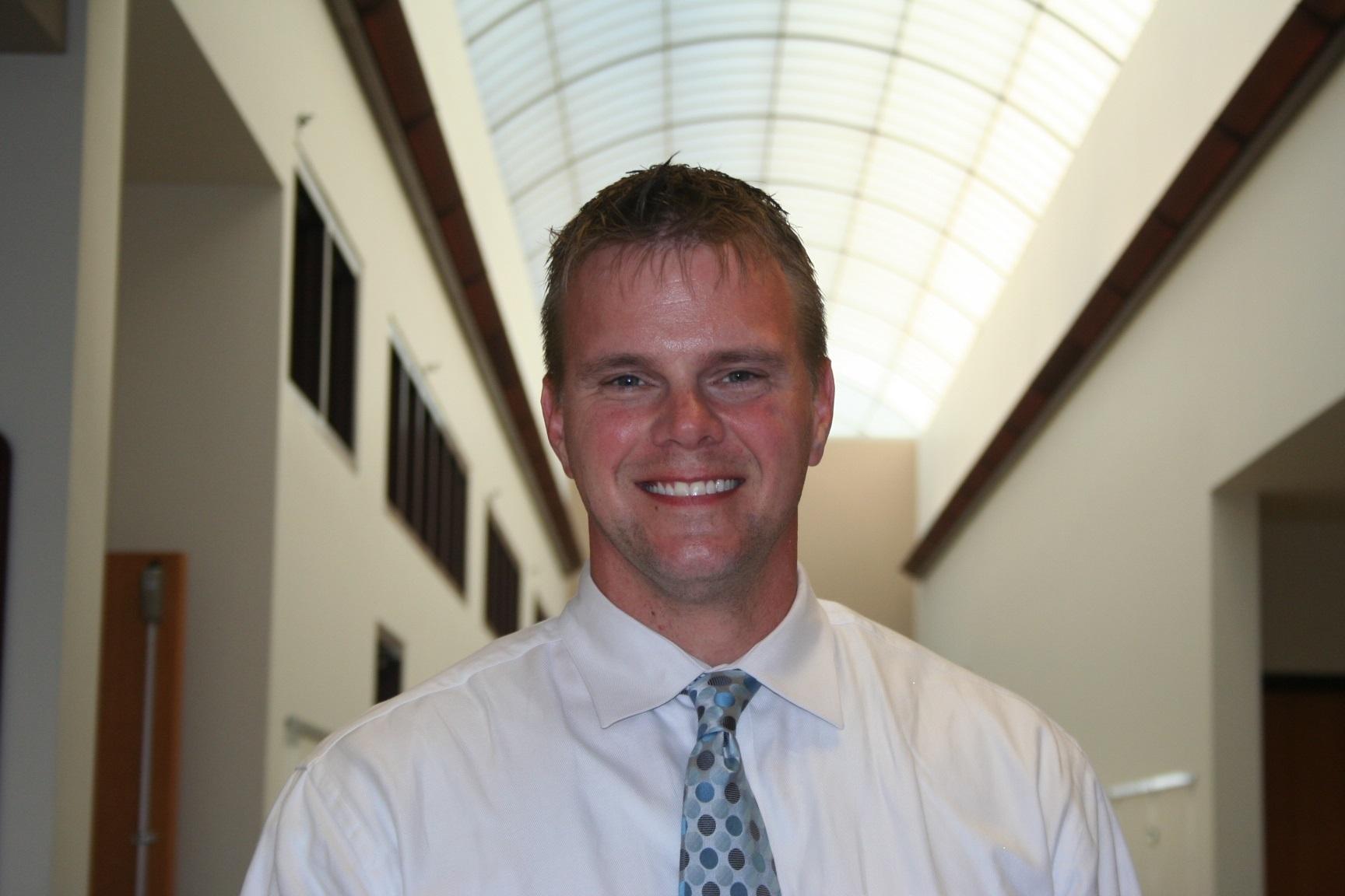 Plainfield Academy Principal Tod Schnowske
