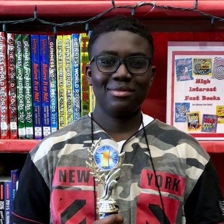 Heritage Grove Middle School 8th grader Gabriel Ennin will represent Will County in the national Spelling Bee.