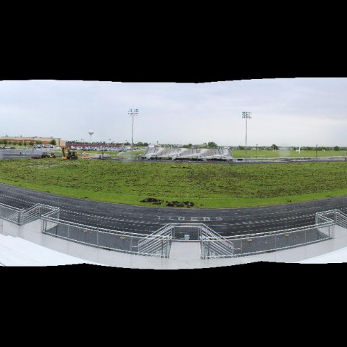 PHOTOS: Stadium turf work begins, 05.2017