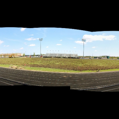 PEHS Stadium turf work begins, 05.2017