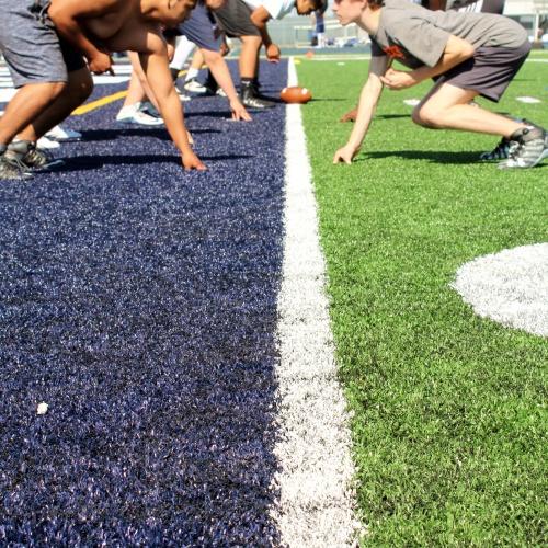 Summer football camp, PSHS, 06.20.2017