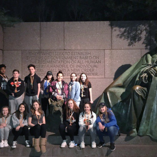 Eighth graders visit Washington D.C., 02.18.2017