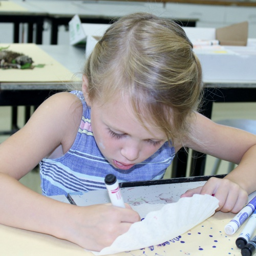Summer Art Camp, week of 07.31.2017