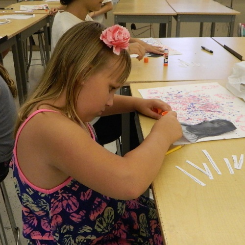 Summer Art Camp, week of July 10, 2017