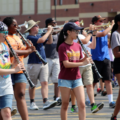 Summer band camp, 08.02.2017
